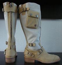 BELSTAFF NAKEDMASTER 1955 LIGHT NATURAL Stiefel Damen Leder Boots Gr.37 NEU