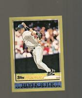 TOPPS NEW YORK YANKEES 2010 WORLD CHAMPIONSHIP SET DEREK JETER CARD # YC24