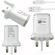 LG Travel Rapid Charger 1.8A Mains Adapter MCS-04UR + USB Cable For LG G4 G2 G3