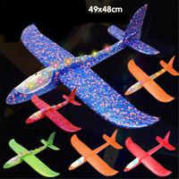 LED EPP espuma Avión al aire libre planeador avión regalo juguete niños