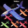 LED EPP espuma Avión al aire libre planeador avión regalo juguete niñosK