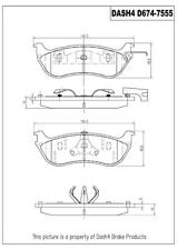 Dash 4 Brake CD674 Rear Ceramic Brake Pads
