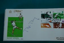 BJORN BORG SIGNED 1977 RACKET SPORTS FIRST DAY COVER 7