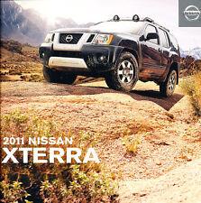 2011 Nissan Xterra 22-page Original Car Sales Brochure Catalog