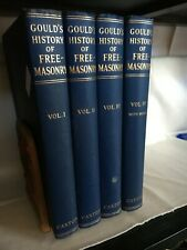 More details for history of freemasonry. gould. 4 vols. with index. caxton reprint 1951