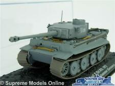PZ Kpfw VI Tiger Tank Model 1 72 Size Army Military IXO ALTAYA Germany 1943 T3