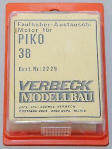 Verbeck-Modellbau, 2229, Faulhaber-Austauschmotor für Piko BR 38, neu, OVP