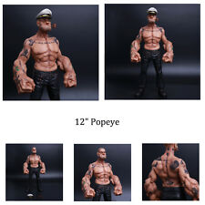 "100% Genuine HeadPlay 1/6 Hot Sale 12"" Popeye the Sailor Man TATTOO BODY Model"