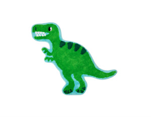 Sass & Belle Roarsome Dinosaur T-Rex Rug Kids Bedroom Nursery Dino Carpet Mat