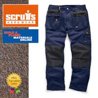 Scruffs NAVY WORKER PLUS Trousers | Trade Hard Wearing Work Trousers