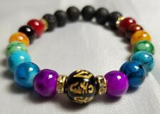 Lucky 7 Chakra Bracelet Crystals Healing Stones Beads Jewellery Anxiety