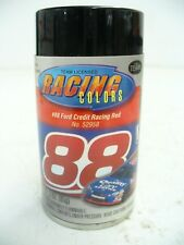 TESTORS RACING COLORS # 88 FORD CREDIT RED SPRAY PAINT NASCAR MODEL 52958 3OZ