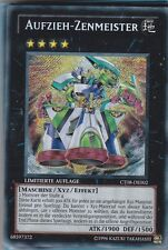 YU-GI-OH Aufzieh Zenmeister Secret RAre CT08-DE002
