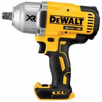"""Dewalt DCF899B 20v MAX* XR Brushless 1/2"""" Impact Wrench, Detent (Bare)"""