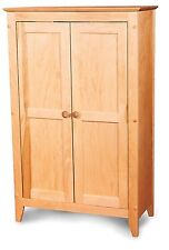 Pie Safe Double Doors Kitchen Pantry Linen Closet Jelly Cabinet Storage Wood