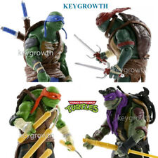 "4PCS Teenage Mutant Ninja Turtles Set TMNT 5"" Collection Action Figures Vintage"