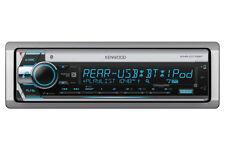 New Kenwood KMR- D772BT Single DIN Marine USB CD MP3 Bluetooth Stereo Receiver