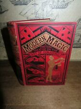 1894 MODERN MAGIC PRACTICAL TREATISE ON ART OF CONJURING BY HOFFMANN ILLUSION *