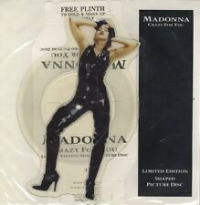 "MADONNA Crazy For You 1991 UK 7"" Vinyl PICTURE DISC Single EXCELLENT CONDITION"