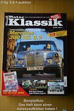 Motor Klassik 4/99 DB 300 SEL 6.3 Fiat 130 Rolls Royce