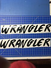 """Jeep WRANGLER Hood Decals Stickers Graphics Rubicon YJ TJ 2 - 23"""""""