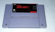 Super Scope 6 (1992) Super Nintendo Game Only