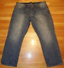 AUTHENTIC LUCKY BRAND MENS 181 RELAXED JEANS 42 X 30 STRAIGHT LEG DENIM