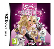 Barbie: Groom and Glam Pups (Nintendo DS, 2010) with BOOKLET - VG
