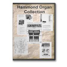 Hammond Organ 21 Vintage Service Repair Restoration Brochures Manuals Dvd C779