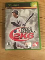MAJOR LEAGUE BASEBALL 2K6 - XBOX - COMPLETE WITH MANUAL - FREE S/H - (GG)