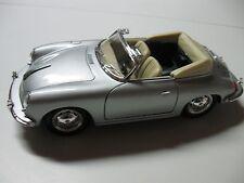 WELLY 1:24 SCALE PORSCHE 356 B DIECAST CAR MODEL CONVERTIBLE W/O BOX NEW!