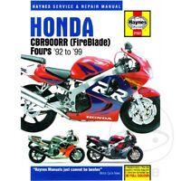 Honda CBR 900 RR Fireblade 1998 Haynes Service Repair Manual 2161