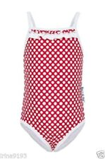 Babes in the Shade Baby Girl`s Swimsuit Red and White Size 12 mths