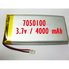 7050100 Rechargeable Polymer Li ion battery Lipo 3.7V 4000 mAh for GPS  iPAQ PDA
