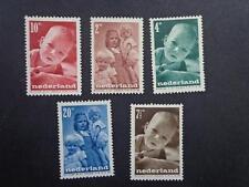 Netherlands 1947  full set Child Benefit Stamps  MLH