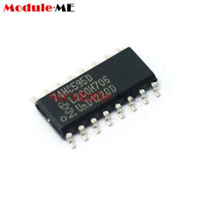 50PCS 74HC595D 74HC595 8-Bit shift register SOP-16 NXP IC Nuovo Regno Unito