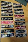 Rare Vintage 1980's Prism Bumper 2x7in Sticker - Lot of 20 - (AA Sober Recovery)