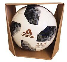 Adidas Fifa World Cup Official Game Ball Soccer Telstar 18 Russia Wz Box