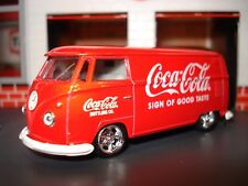 "1960 MICROBUS VW ""COKE"" DELIVERY BUS LIMITED EDITION CUSTOM VOLKSWAGEN 1/64 M2"