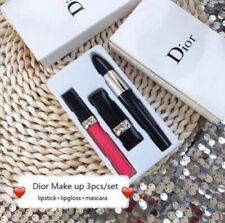 Dior Make up 3 x Items GIFT SET new in BOX Macara Lipgloss Lipstick CHRISTMAS UK
