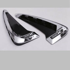Side Marker Fender Air wing Vent Trim M Cover For 2014+ BMW F15-X5 X5 35I