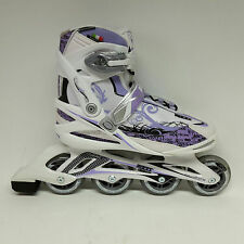 Roces Yris weiss lila Damen  Fitness Inline Skates  Inliner Gr. 41 Sale Abec 5