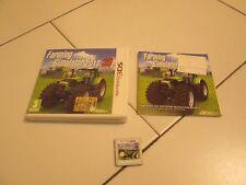3DS - FARMING SIMULATOR 2012 3D - Completo e perfettamente funzionante!!!