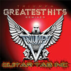 Triumph Guitar Tab GREATEST HITS Lessons on Disc