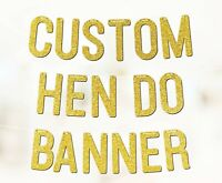 Personalised Happy Hen Do Party Banner Party Decorations P1102