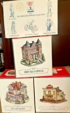 Liberty Falls Americana Collection Ah47 w/Courthouse, Clark Mansion, Dance Hall