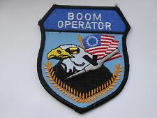 RAF/USAF squadron cloth patch   boom operator  [ eagle and flag ]