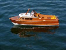 DIGITAL PLANS ONLY Vintage Model Boat Cabin Cruiser Queen