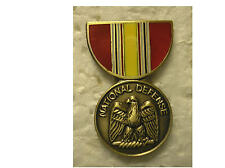 Military Medal Hat Pin - National Defense Service Medal