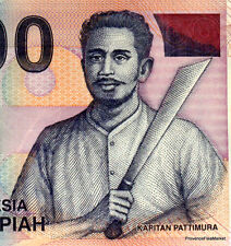INDONESIE billet neuf de 1000 RUPPIES Pick141a MACHETTE BATEAU PECHE VOLCAN 2000